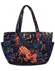 Tommy Hilfiger bolsillo lateral Tote (Emory Paisley)