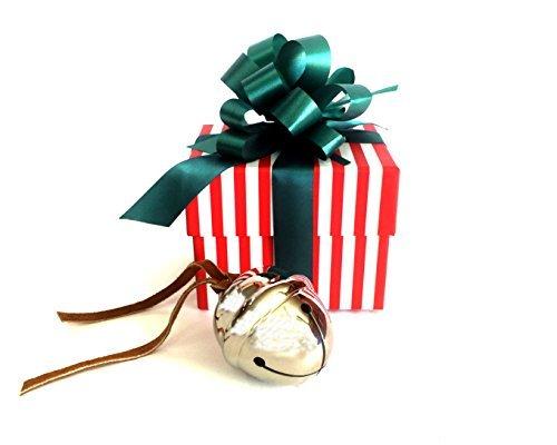 LilyDeal Polar Express Schlittenglocke Geschenkset, Silber, Silber