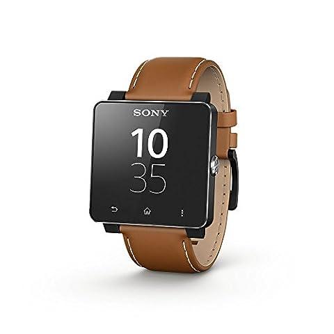 Sony Smartwatch 2 Montre connectée pour Smartphone/Tablette Marron