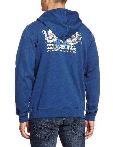 Billabong–Maglietta da uomo Adventure Divisione in pile, Uomo, blu, M blu