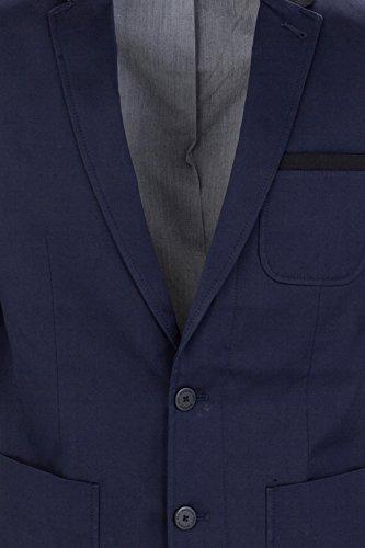 MEXX Herren Sakko Classic blazer with tailored twist Dunkel blau (Sky Captain 067)