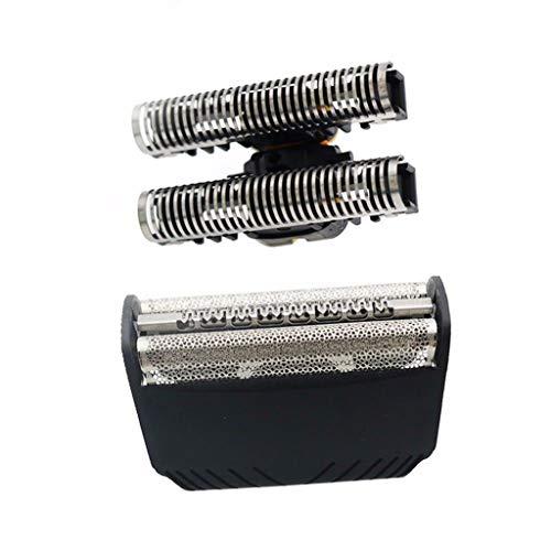 Sisit Herrenrasierer Für BRAUN 30B 7000 Series 4000 Series Herrenrasierer Folie + Cutter Set Kopf Kompatibel mit: B-raun 3 Series-Control, Flex Integral, Flex XP und 5000 & 6000 Series -