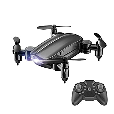 Prevently RC Drone, New Mini 2.4G 6-Axis RC Foldable RC Quadcopter Drone Altitude Hold Without Camera