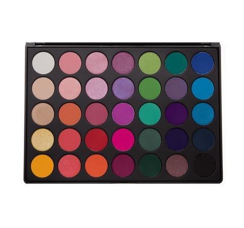 morphe 35B–35color Glam–Paleta de sombras de ojos, nuevo