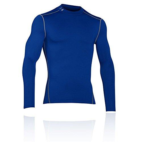 Under Armour Herren UA CG Armour Mock Fitness-Sweatshirts, Royal, L
