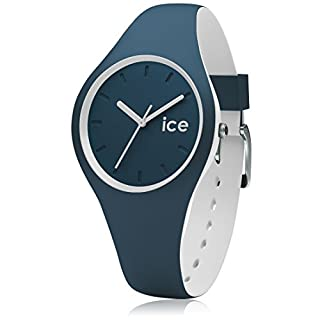 Ice-Watch - ICE duo Atlantic - Blaue Herrenuhr mit Silikonarmband - 001487 (Small)
