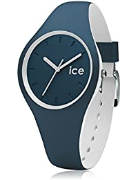 Ice-Watch Duo Unisex-Uhr Analog Quarz mit Silikonarmband – 001554