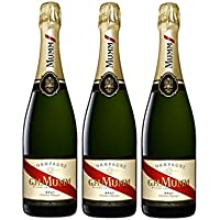Mumm Cordon Rouge Brut - Vino Espumoso - 3 Botellas