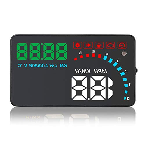 Anddod Universal D1000 4 Inch Car HUD Head Up Display