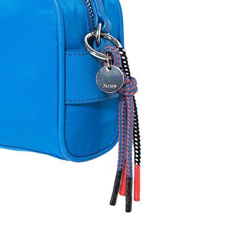Parfois - Borsa Nylon Crociato Nero - Donne Blu