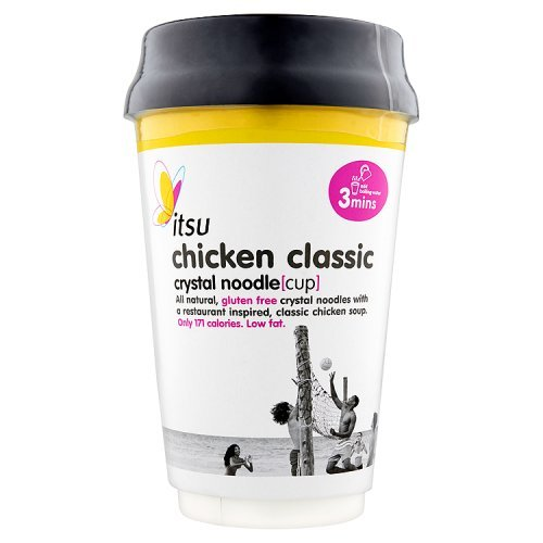 Itsu Classic Chicken Crystal Noodle Cup, 63g