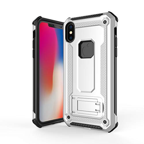 3c1b31bab FindaGift iPhone XS Max Custodia Cool Dual Layer TPU + PC Cover Ibrida  Custodia Protettiva Custodia