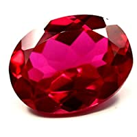 Natural sapphire stone AAA red Weight: 7.40 carats Burma Size: 6.91-9.26 - 12.83 mm with salad identification card