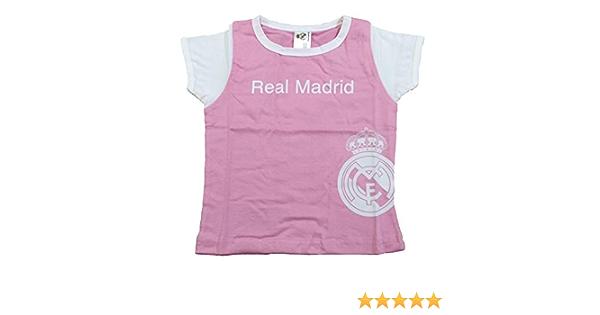Bleu marine Personnalisable Fille Robe Real Madrid Produit sous licence