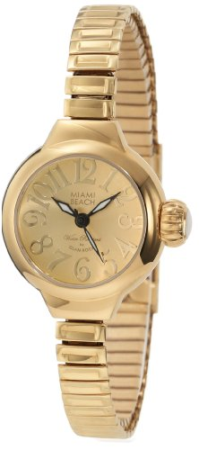 Glam Rock MBD27155 - Reloj de Pulsera Mujer, Color Oro