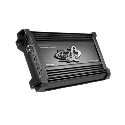 Lanzar Htg157 - Amplificador Mono Coche 3000 W, Clase