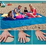 Jellbaby Beach Mat - Sand Will Not Stay on the Mat Clean Environment No Sand Outdoor Camping Activity size 150*200CM