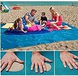 SROVFIDY Strandtuch anti-sabbia für die Tötete wurde ohne Stress und ohne Sand für diejenigen, die lieben immer bleiben eigenen 200x 200cm