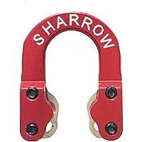 SHARROW D Loop Metal Tiro al Arco Accesorios de Arco Compuesto (Rojo)