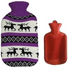 Elchmotiv Beauty & Gesundheit Wärmflasche Mit Bezug Überzug Wärmeflasche Elchmotiven