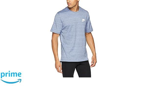 975f0d92d59d2a Nike Men Advance 15 Knit T-shirt - Aluminum Heather (White)