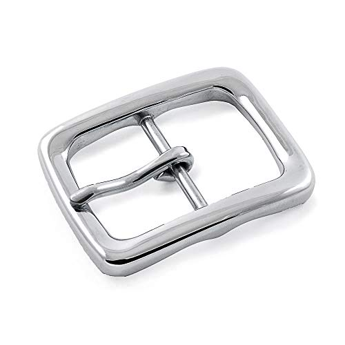 Ganzoo Gürtel-Schnalle für Damen und Herren, Buckle, Gürtel-Schließe aus rostfreiem Edel-Stahl
