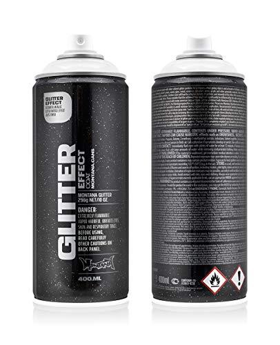 Montana 415425 Glitzereffekt, silber/transparent, 400ml