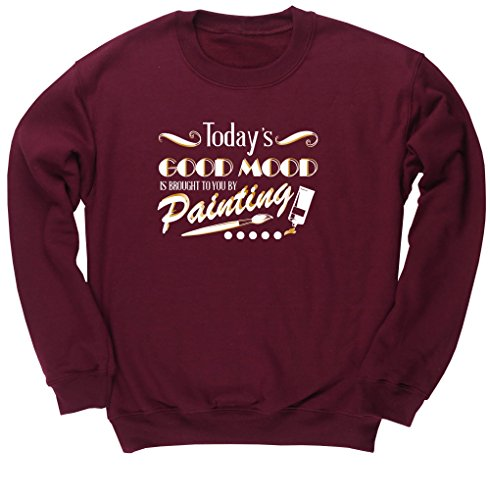 hippowarehouse-todays-good-mood-is-brought-to-you-by-painting-unisex-jumper-sweatshirt-pullover
