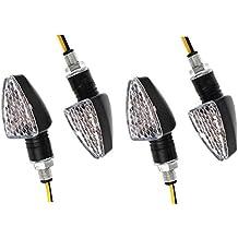 4 X Golden Seeds Bombilla Luz Indicador Intermitente 15 LED Universal de Motos Faros