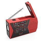 Esky Esky Solar Crank NOAA Weather Radio for Emergency with AM/FM, Flashlight, Reading