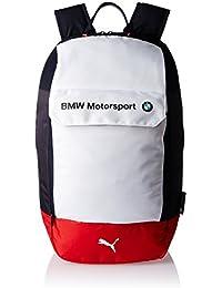 Puma Bmw Motorsport Sac à dos, Puma White/Blue/High Risk Red d'Équipe, 26,5x 0.5x 48cm, 21L, 07426901