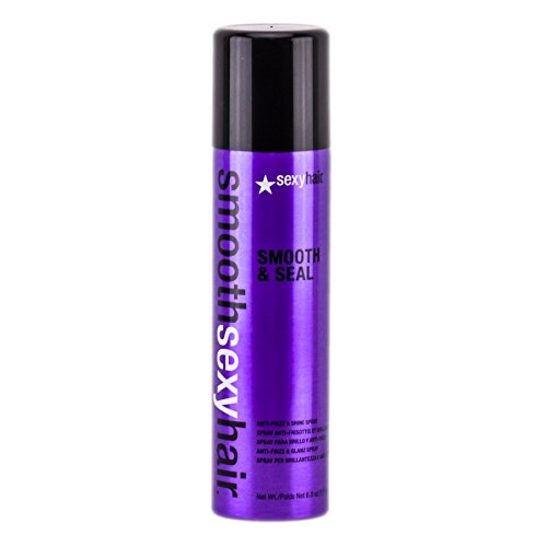 Haar-produkte Frizz (sexyhair Smooth & Seal Anti-Frizz Shine Spray, 1er Pack (1 x 225 ml))