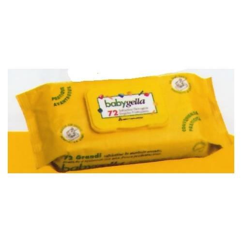 Babygella Salviettine Detergenti - 72 Pezzi