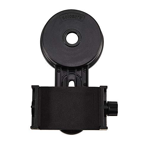 Tihebeyan Soporte Universal Montaje teléfono, Binocular/monocular/telescopio/microscopio/Soporte