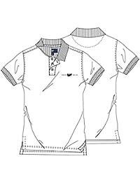 05d42fb26 HARVEY MILLER POLO CLUB Elegantes Polo Herren Shirt Poloshirt T-Shirt Weiß