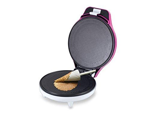 Beper Cialdina - Máquina para hacer cucuruchos, color rosa