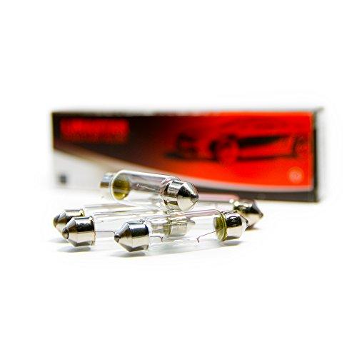 Xenon-soffitten-lampe (10 x Soffittenlampe Lampe Birne SV8.5 T10 39mm C5W C10W 10W Soffitte12V)