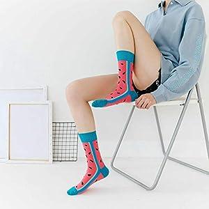 Mujer de algodón calcetines de