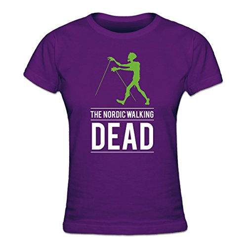 The Nordic Walking Dead Frauen T-Shirt by Shirtcity