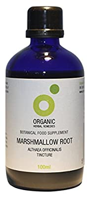 Organic Herbal Remedies 100 ml Marshmallow Root Tincture from Organic Herbal Remedies