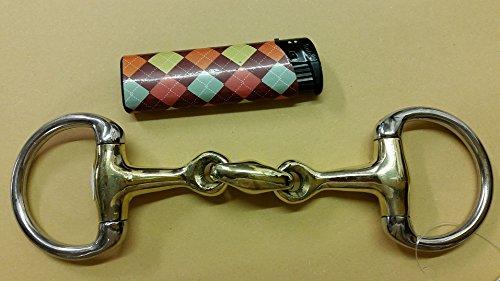 Tysons Breeches  Minipony Minishetty Mini Shetty Gebiss D- Ring Argentan doppelt gebrochen 8,5 9,0 9,5 10,0 10,5 11,0 11,5 12,0 cm (10,5)