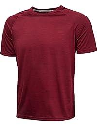 KomPrexx T-shirt de Sport Homme Tee Shirt de Running Séchage Rapide pour Fitness - 16 Couleurs