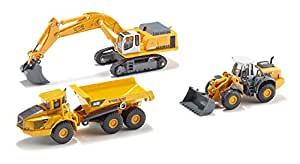 Siku 1:87 3Pce Construction Set