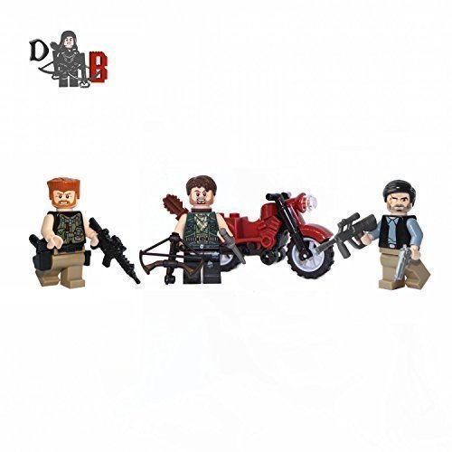 Custom-The-Walking-Dead-3-pack-Abraham-Ford-Daryl-Dixon-The-Governor-NEW