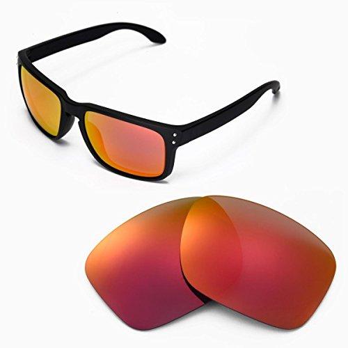 sunglasses restorer Basic Ersatzgläser Fire Iridium für Oakley Holbrook