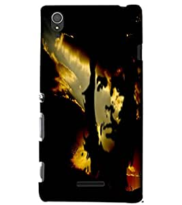 SONY XPERIA T3 FAMOUS PERSONALITY Back Cover by PRINTSWAG