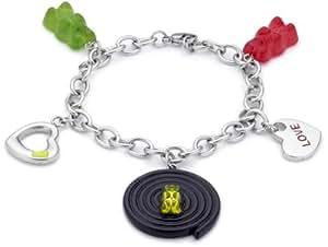 Haribo Bijoux - 360206500 - Bracelet Femme - Acier Inoxydable