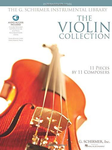 Intermediate Level (Book And CD): #F# Noten, 2TC, Sammelband für Violine, Klavier (G. Schirmer Instrumental Library)