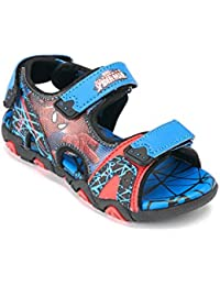 Spiderman Garçon Sandales - bleu