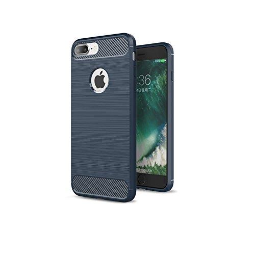 iPhone 8 Plus Hülle TPU Case, AVIDET Ultra Slim TPU Case für iPhone 8 Plus Schutzhülle (Blau) Blau